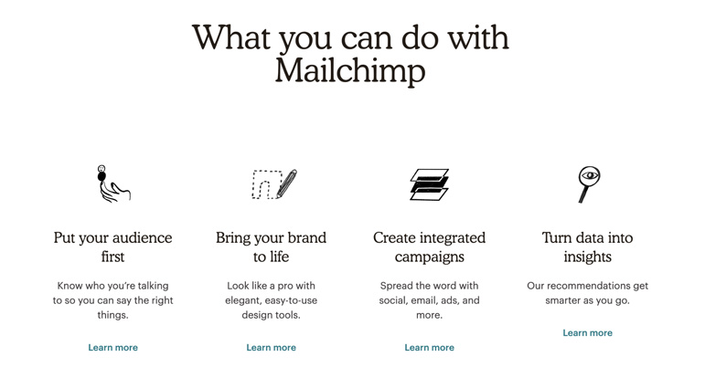 Mailchimp Best Email Marketing Tools For Small Businesses